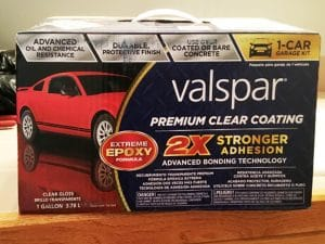 Valspar Premium Clear Epoxy Kit review