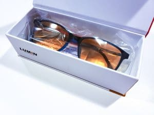 35ce2c0f52 ... glasses is that they go too far and they filter out too much light. But  the LUM-100 glasses have just the right amount of protection to reduce glare  ...