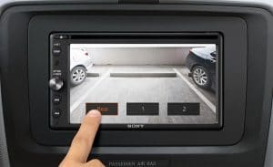 Choice of Camera Inputs Sony XAV-AX200SXM