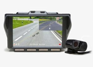 Z-EDGE S4 1440P ULTRA HD DUAL-LENS CAR DASHBOARD CAMERA