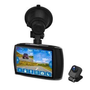 Z-EDGE T4 Double Dash Cam Touch Screen review