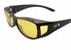 Duco Night Vision Wrap Around Polarized Glasses 8953Y review