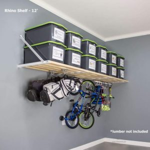 DIY RhinoMini Shelf Kits for Garages review