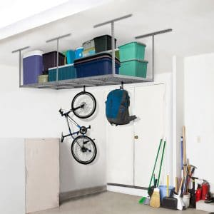 FLEXIMOUNTS 4x8 Overhead Garage Storage Rack review