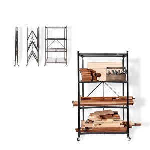 Origami General Purpose Foldable 4-Shelf Storage Rack review