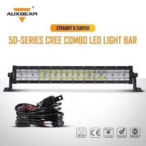 Auxbeam 50 Inch LED Light Bar 288W review