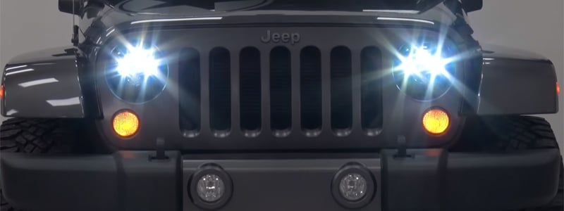 Best Jeep Wrangler LED Headlights – Buyer's Guide
