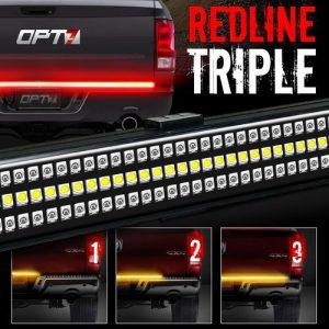 OPT7 60″ Redline TRIPLE LED Tailgate Light Bar review