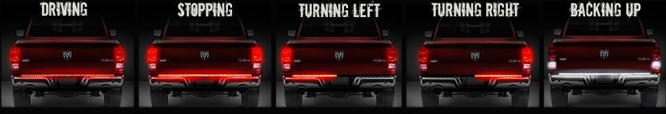 OPT7 Redline LED Tailgate Light Bar