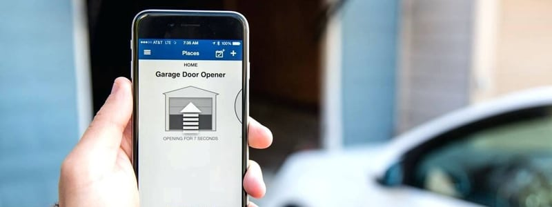 Best Garage Door Openers smartphone