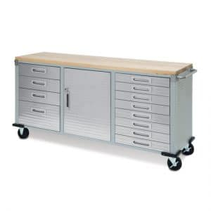 Seville Classics UltraHD 12-Drawer Rolling Workbench review