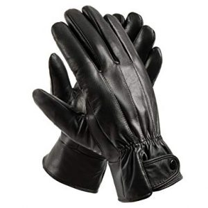 Anccion Genuine Leather Warm Lined Driving Gloves review
