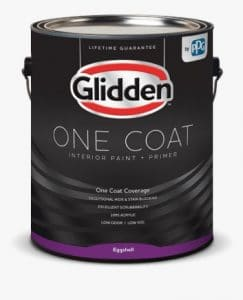 Glidden Interior Paint and Primer review