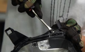 Reseal Headlights - Prying the Headlight