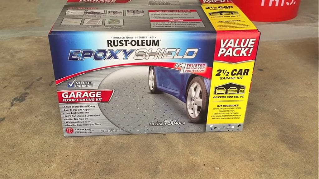 Rust-Oleum Epoxy Garage Kit