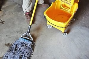 Tools and Supplies for Clean Garage Floor