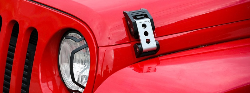 Jeep Hood Latches