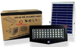 High Power 1000 Lumen Solar Motion LED Flood Light Review