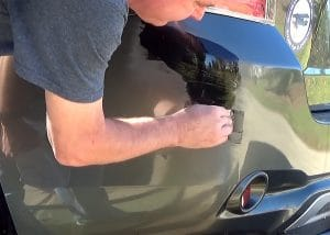 How to Remove Scratches From a Car Bumper Fill In With Repair Adhesive