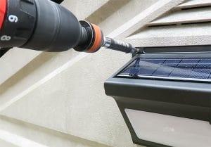 Installed Outdoor Motion Sensor Lights