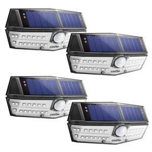 LITOM Premium 30 LED Solar Lights Outdoor Review