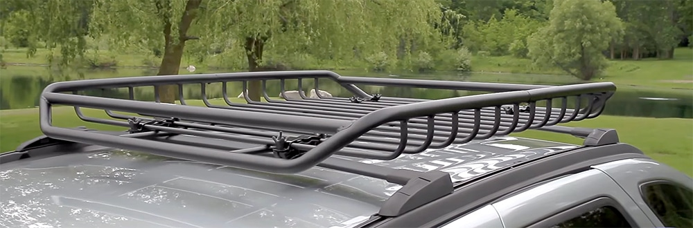 Roof Rack Cargo Basket review