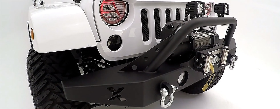 Best Jeep Wrangler Bumpers Durable and Customizable no Instructions