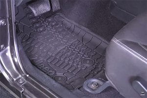 Best Jeep Wrangler Floor Mats Harsh Weather and Conditions