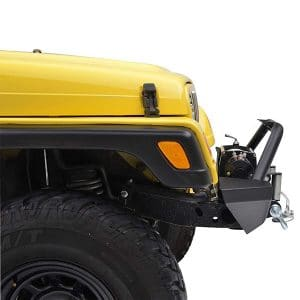 EAG Front Bumper with 2x D-ring & Winch Plate review