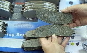 Friction Material Brake Pads for Towing