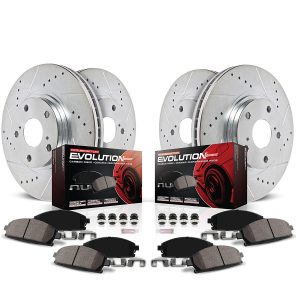 PowerStop K2303 Front and Rear Z23 Evolution Brake Kit review