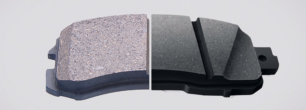 Slots, Shape, and Chambers Brake Pads for Towing