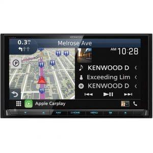 Kenwood eXcelon DNX995S Apple CarPlay