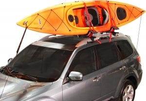 Malone Downloader Folding J-Style Kayak Roof Rack