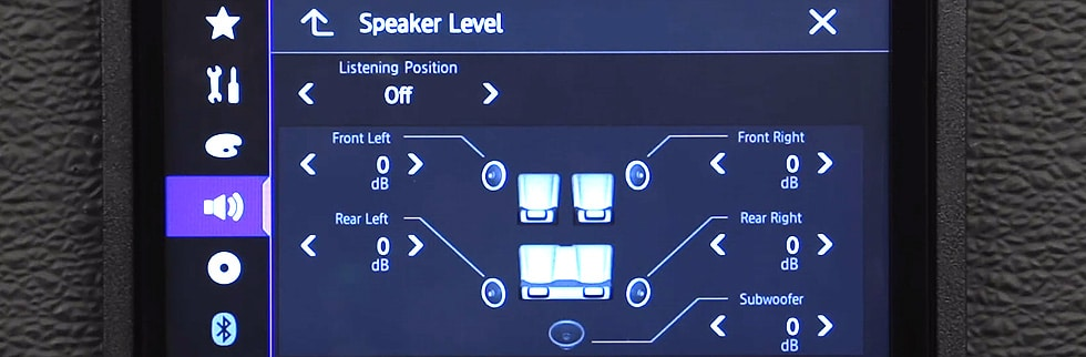 Tuning Fresh Speakers on Equalizer Settings