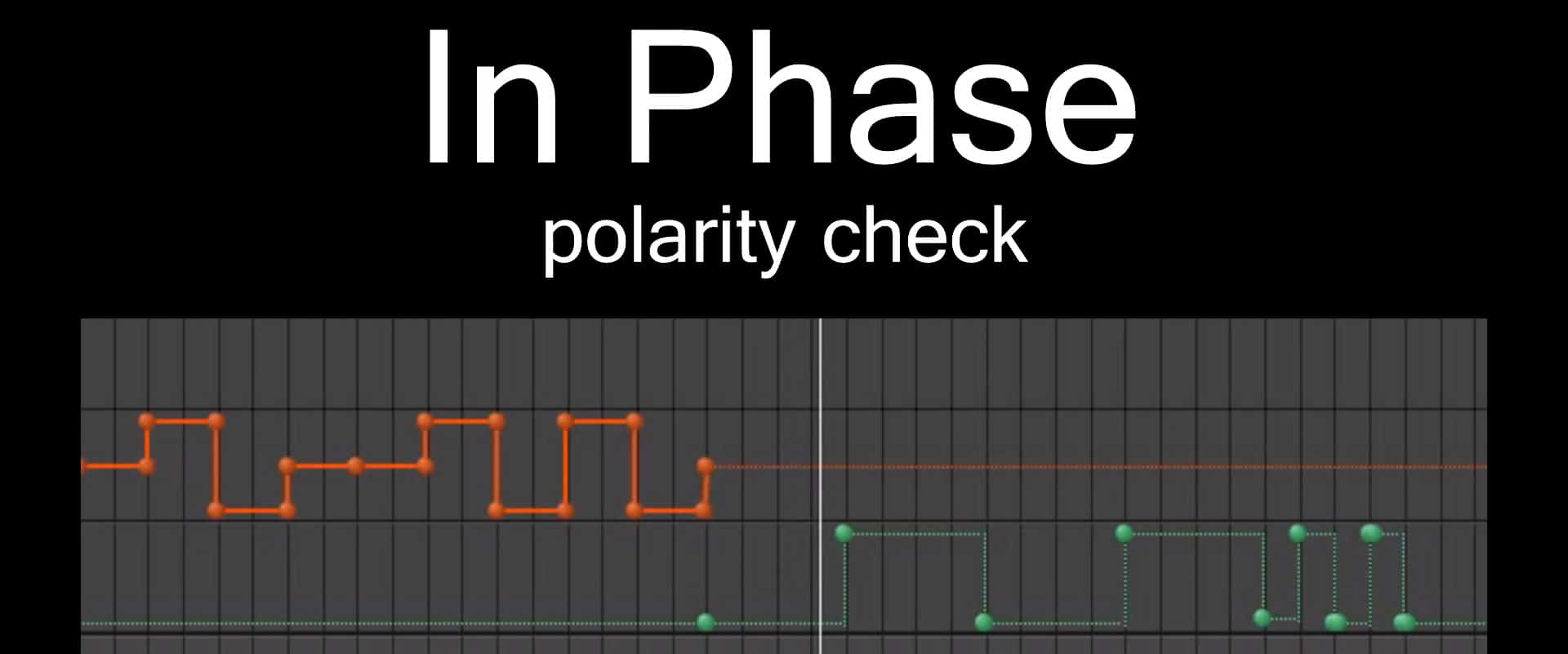 speaker polarity check in phase for set up car equalizer