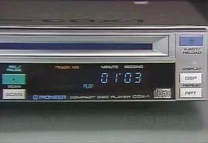 World's first car CD player Pioneer