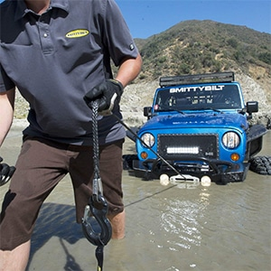 front bumper winch review