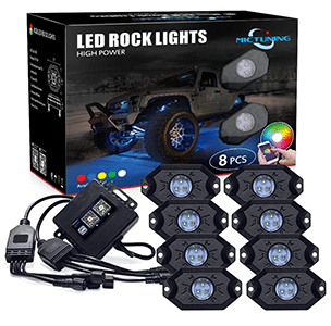 MICTUNING  LED Rock Lights review