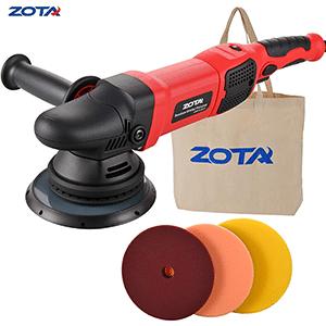 ZOTA Polisher with 30' Cord, 21mm Long Throw Random Orbital Polisher