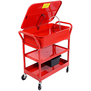 20 Gallon Mobile Parts Washer