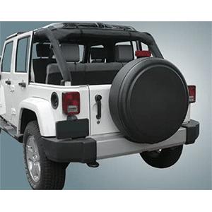 rigid spare tire cover